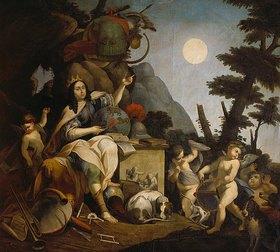 Stefano Catani: Allegorie auf den Kurfürsten Ferdinand- Maria als Astronom