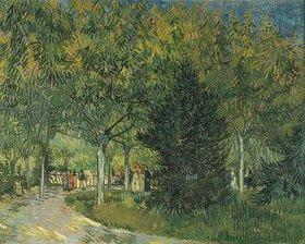 Vincent van Gogh: Promenadenpark mit Figuren, Jardin du Poete (Arles)