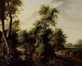 Jacob Philipp Hackert: Waldlandschaft