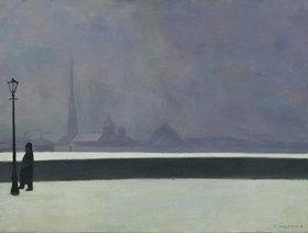 Felix Vallotton: Die Newa, leichter Nebel