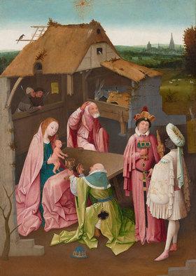 Hieronymus Bosch: Die Anbetung der Könige