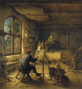Adriaen van Ostade: Der Maler in seiner Werkstatt