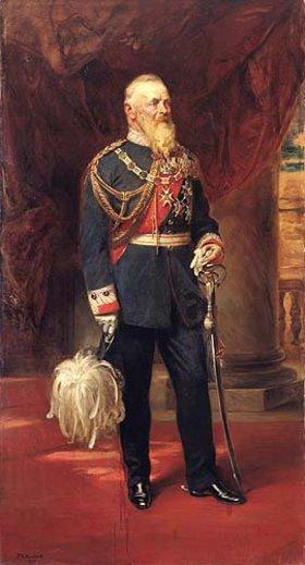 Friedrich August von Kaulbach: Bildnis Prinzregent Luitpold von Bayern