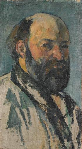 Paul Cézanne: Selbstbildnis