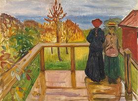 Edvard Munch: Auf der Veranda
