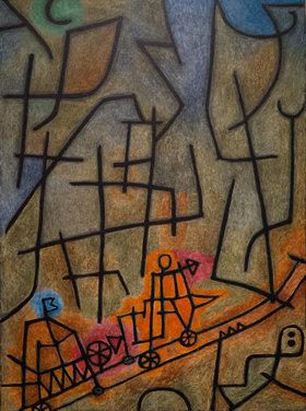 Paul Klee: Die Eroberung des Berges