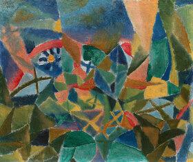 Paul Klee: Blumenbeet