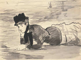 Edouard Manet: Annabel Lee am Strand