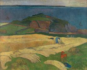 Paul Gauguin: Ernte (Le Pouldu)