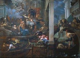 Antonio Zanchi: Die Pest in Venedig