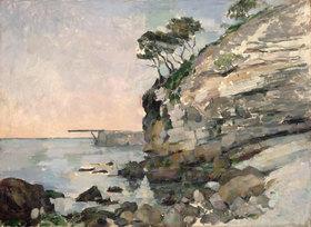 Paul Cézanne: L'Estaque bei Abendlicht (L'Estaque, effet du soir)