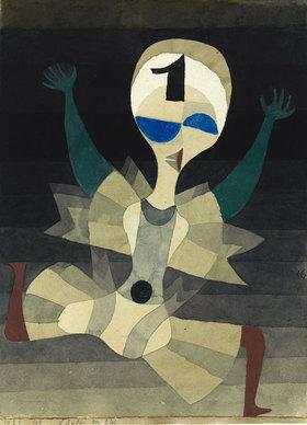 Paul Klee: Läufer am Ziel