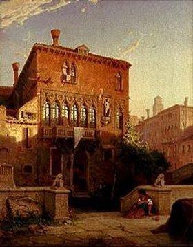 Eduard Gerhardt: Der ehemalige Palazzo Moro in Venedig