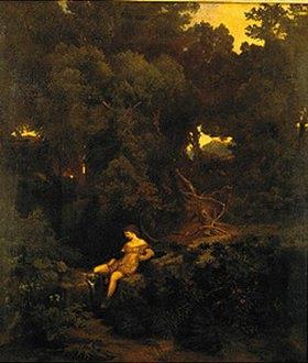 Arnold Böcklin: Nymphe an der Quelle