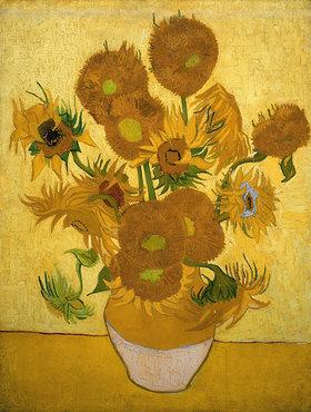 Vincent van Gogh: Sonnenblumen. Arles, Januar