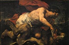 Luca (Fa Presto) Giordano: Samson in der Höhle des Löwen