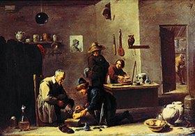 David Teniers: In der Praxis eines Dorfbaders