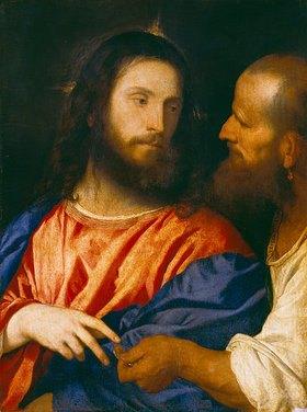 Tizian (Tiziano Vecellio): Der Zinsgroschen