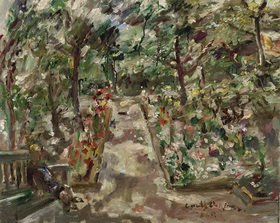 Lovis Corinth: Garten in Berlin-Westend