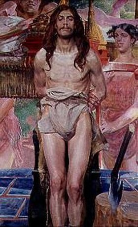Jacek Malczewski: Johannes der Täufer und Salome