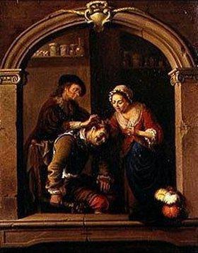 Johann Jakob Dorner d.J.: Der Wundarzt