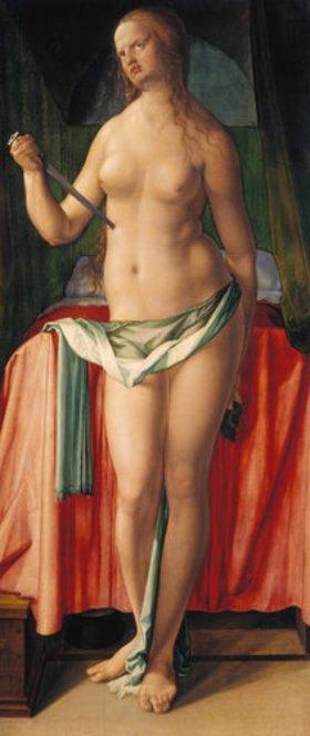 Albrecht Dürer: Selbstmord der Lucretia