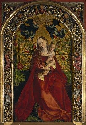 Martin Schongauer: Die Madonna in der Rosenlaube