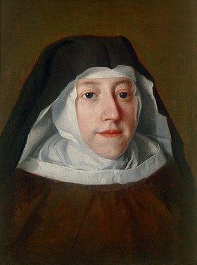 Jacopo Amigoni: Maria-Anna-Carolina von Bayern in der Ordenstracht der Klarissinnen