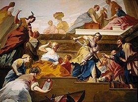 Jacopo Amigoni: Achill bei den Töchtern des Licomedes