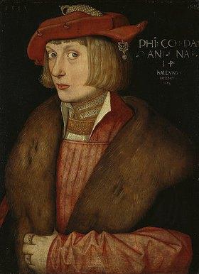 Hans Baldung (Grien): Bildnis des Pfalzgrafen Philipp des Kriegerischen