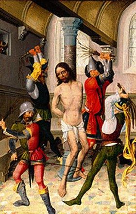 Niederländischer Meister: Die Geißelung Christi