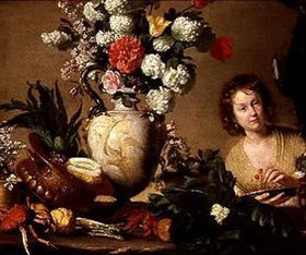 Bernardo (Il Capuccino) Strozzi: Die Gärtnerin. Nach