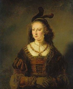Ferdinand Bol: Bildnis einer Frau