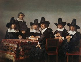 Jan de Bray: Die Regenten des Waisenhauses