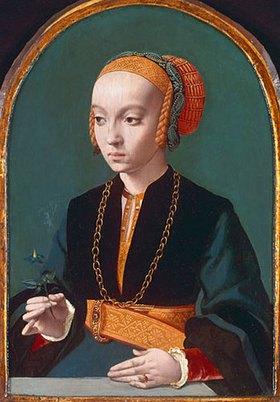 Bartholomäus Bruyn d.Ä.: Weibliches Bildnis