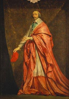 Philippe de Champaigne: Kardinal Richelieu, Bildnis