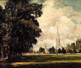 John Constable: Ansicht der Kathedrale von Salisbury
