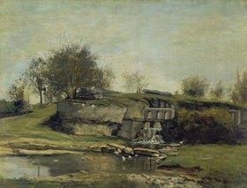 Gustave Courbet: Der Steinbruch von Optevoz. 1854(?)