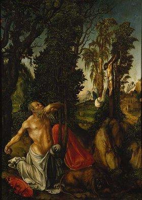 Lucas Cranach d.Ä.: Der büßende hl. Hieronymus