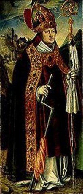 Lucas Cranach d.Ä.: Der hl. Erasmus. Tafel vom Pfirtscher Altar