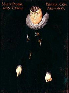 Deutsch: Maria, Witwe des Erzherzogs Karl von Österreich