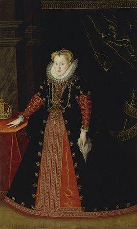 Deutsch: Königin Anna von Polen, Gemahlin Sigismund III. von Polen