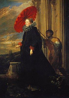 Anthonis van Dyck: Marchesa Elena Grimaldi, Bildnis