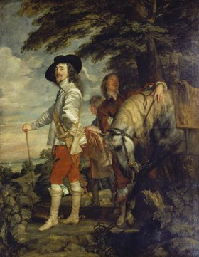 Anthonis van Dyck: Karl I. von England bei der Jagd