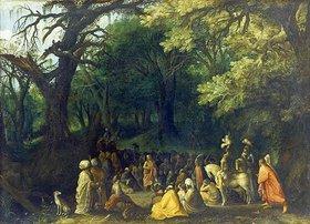 Adriaen van Stalbemt: Die Predigt Johannes des Täufers