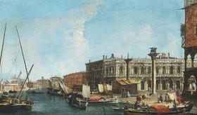 Michele Marieschi: Il Molo dal bacino con l'ingesso del Canal Grande
