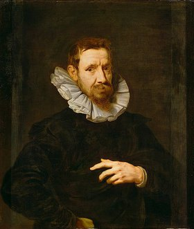 Anthonis van Dyck: Portrait des Malers Jan Brueghel