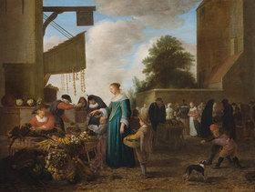 Hendrik Martensz Sorgh: Gemüsemarkt