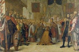 Hans Werl: Die Krönung Herzog Ottos III.von Niederbayern am 6.12.1305 zum König Bela V
