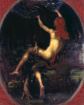 Hans von Marées: Die Entführung des Ganymed